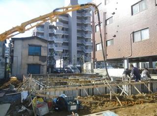 ④基礎コンクリート打設.JPG