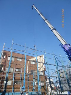 ⑧建て方(1階壁).JPGのサムネール画像