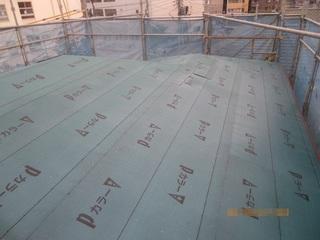 ②屋根アスファルトルーフィング張り150730.JPG