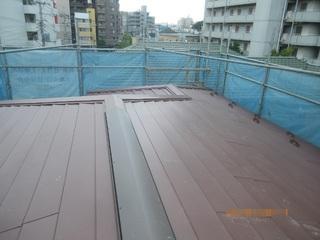 ④屋根葺き完了150811.JPG