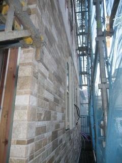 ⑧外壁サイディング張り150912.JPG