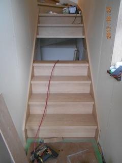 ②.2階住戸階段設置工事.JPG