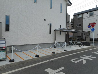 ⑩自転車置場.JPG
