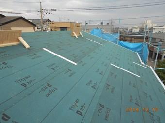 ⑧.屋根ルーフィング完了.JPG