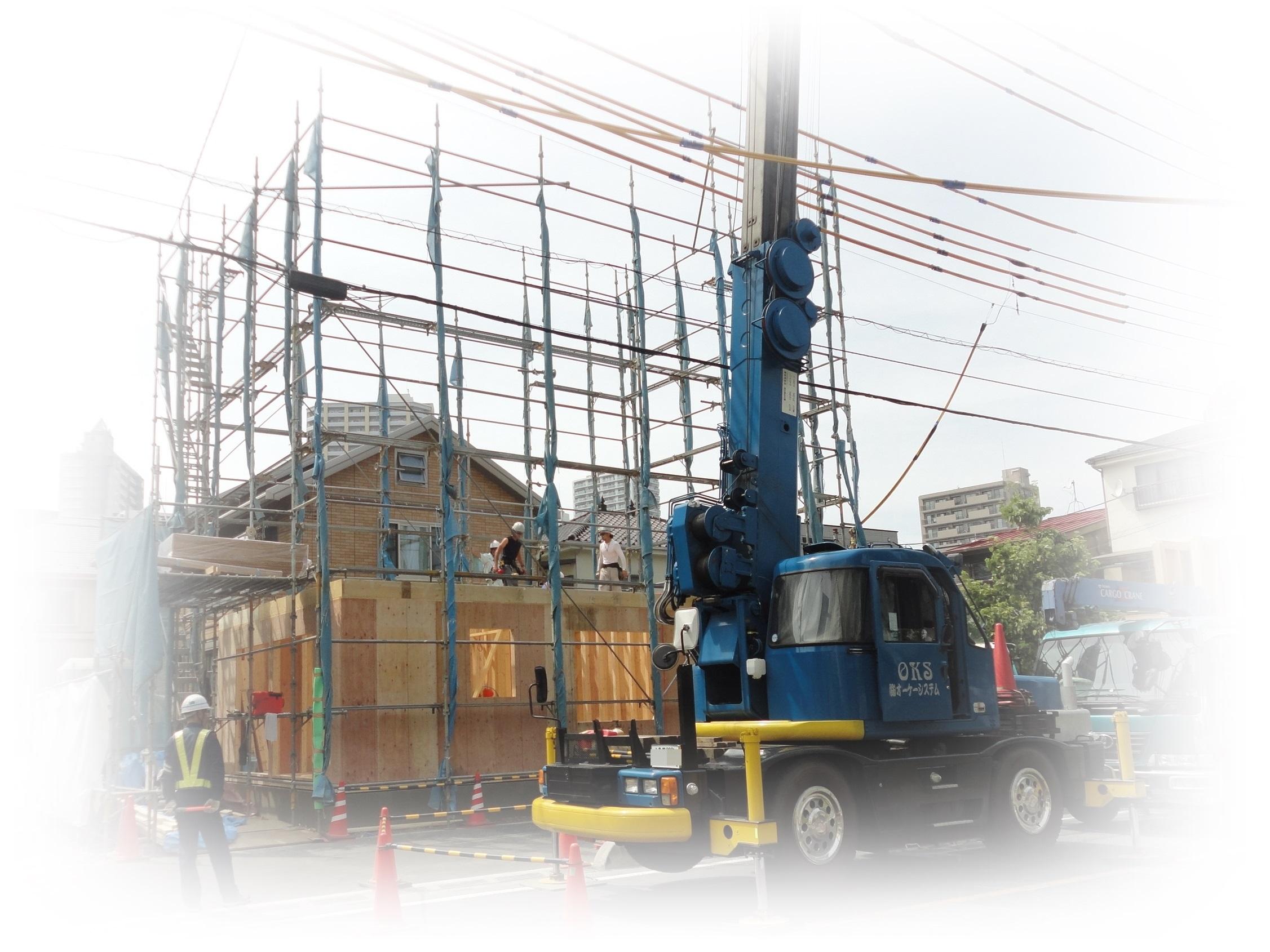 【ツーバイフォー構造見学会】川口市本町新築木造3階建て【注文建築】